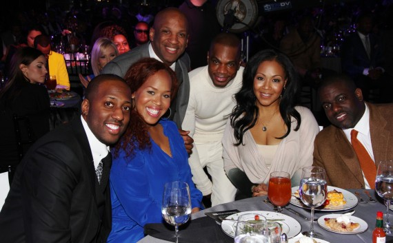 (From L-R: Issac Caree, Tina Campbell, Donnie McClurkin, Kirk Franklin, Erica Campbell, and Warryn Campbell (Photo Credit: BMI)