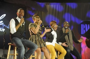 """The Walls"" Group Singing Kirk Franklin's ""I Smile""(Photo Credit: BMI)"