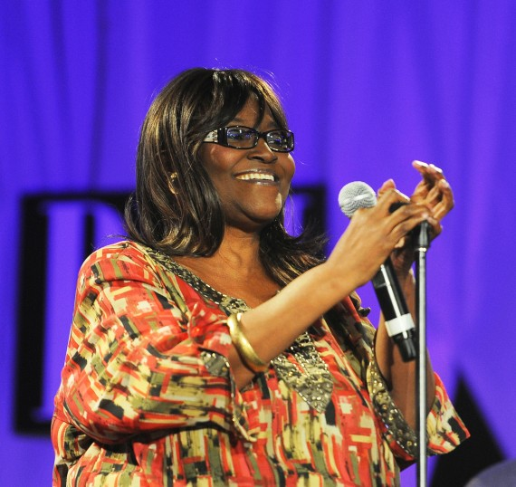 LaShun Pace sang &quot;God Will Take Care Of You&quot;(Photo Credit: BMI)