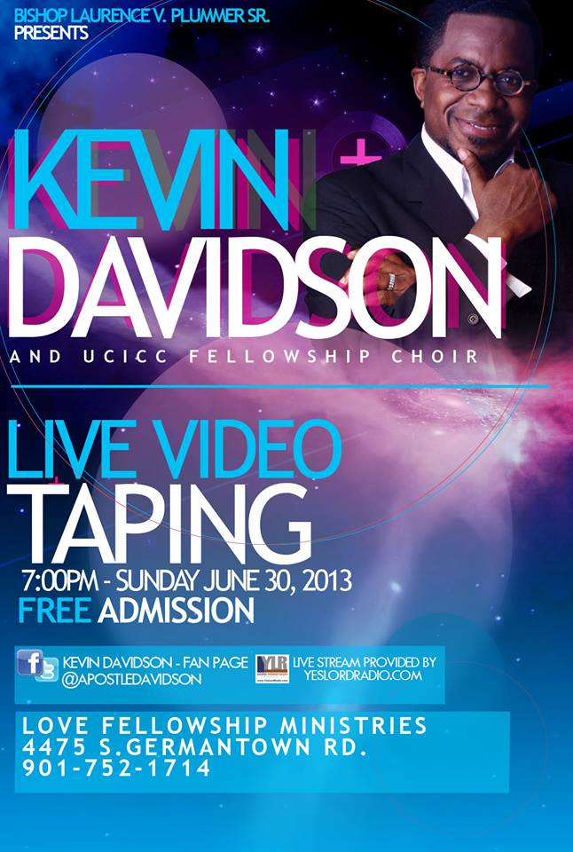 Kevin Davidson Video Taping