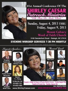Shirley Caesar Outreach