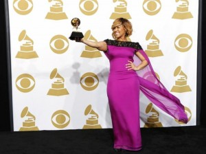 Erica Grammy Win